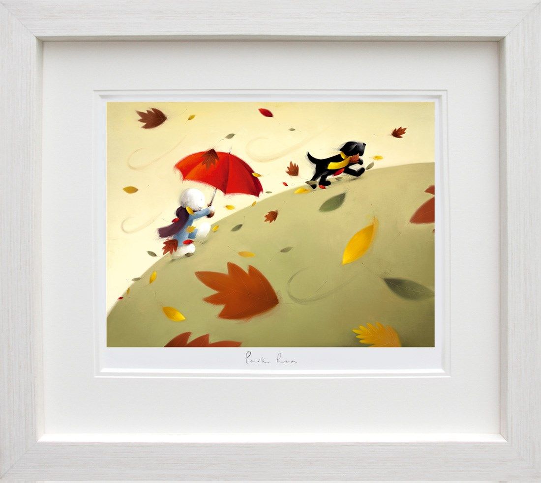 Park Run by Doug Hyde - Limited Edition on Paper sized 22x16 inches. Available from Whitewall Galleries